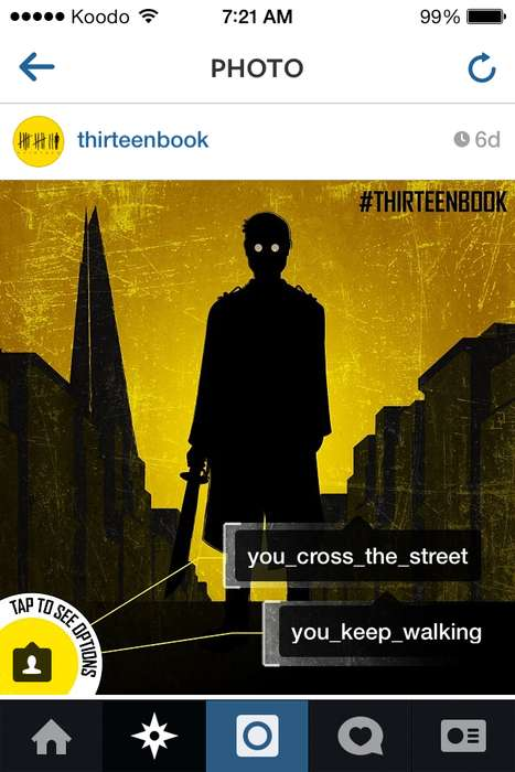 Interactive Social Adventure Games - This Instagram Hosts an Interactive Choose Your Own Adventure
