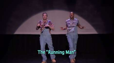 Evolutionary Dance Move Skits - Jimmy Fallon and Will Smith Show Off the Evolution of Hip Hop