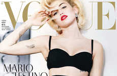 Miley Cyrus Stars in Vogue Germany March 2014