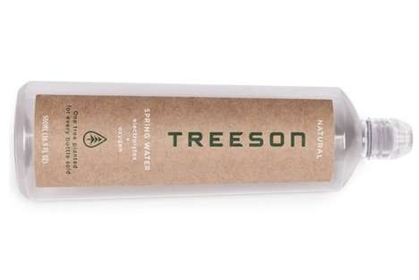 Sustainable Water Bottle Initiatives - Treeson Water Bottles Take Big Eco-Friendly Steps Forward