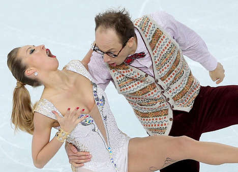 Unflattering Skater Face Photos - These Olympic Figure Skaters Were Photographed with Odd Faces