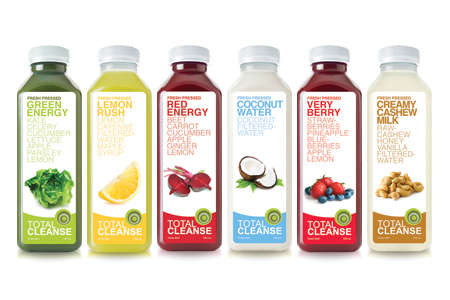 25 Prepackaged Health Beverages - From Pinchable Beverage Branding to Sun-Bleached Fruit Branding