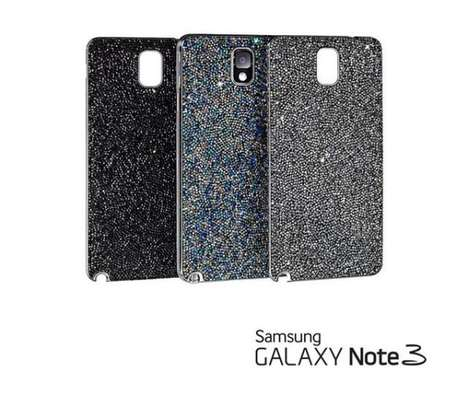 Crystal-Studded Phablet Cases - Samsung