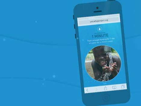 Smartphone-Obsessed Charitable Endeavors - The UNICEF Tap Project is Taking Away Your Smartphone