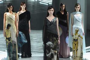 These Star Wars Dresses by Rodarte Make a Splash on the Runway