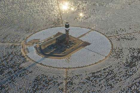 Gigantic Desert Solar Stations - This California Solar Farm Brings Renewable Energy to the Forefront