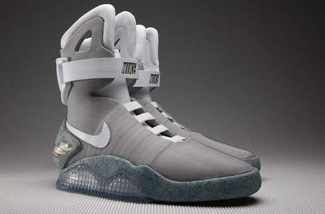 Self-Lacing Shoes (UPDATE) - Nike Brings It Back to the Future with the Re-Release of the Nike MAG