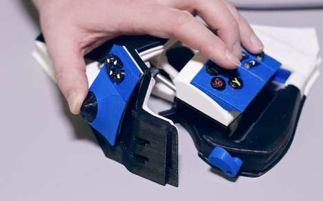 Augmented Reality Gaming Pads - The Sinister Virtual Game Pad Gives You an Immersive Expeirence