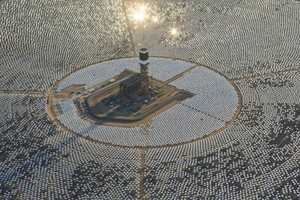 The Ivanpah Solar System Produces 392 Megawatts of Energy