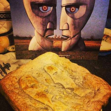 Album-Inspired Pie Designs - These Musical Pies Take Inspiration from Famous Album Covers