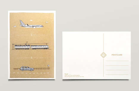 Postcard Wedding Invites - These Meaningful Wedding Material Designs are Creative and Sweet