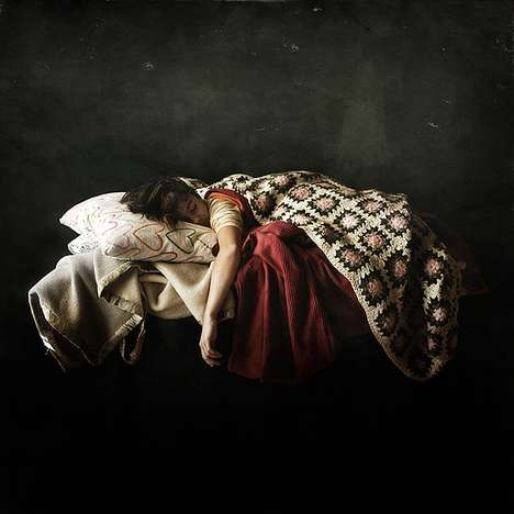 Deep Sleep Photography - Artist Francesco Sambo is Behind 'The Dreamers' Photography Series
