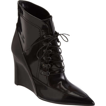 Versatile Lace-Up Vixen Wedges - The Derek Lam Maxine Wedged Heels are Fierce and Versitile