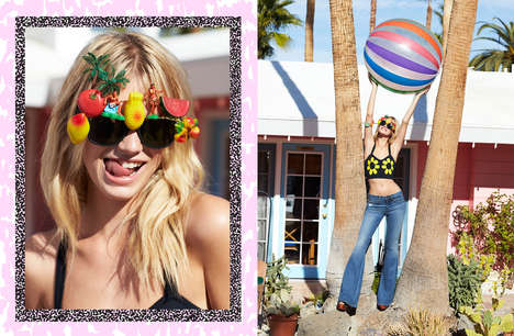 Refreshing Music Festival Lookbooks - The Nasty Gal Festival Lookbook Offers Coachella-Ready Styles