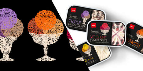 Pams Premium Ice Cream Packaging
