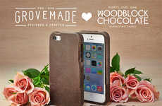 Edible Smartphone Covers - The Grovemade Chocolate iPhone Case Makes Dropping Your Phone Delicious