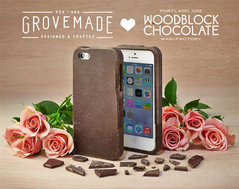 Grovemade chocolate iPhone case