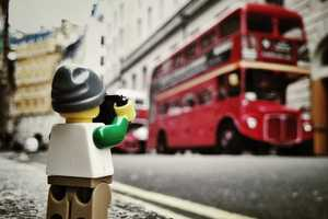The Artist Andrew Whyte Captures One LEGO Photographer in Action