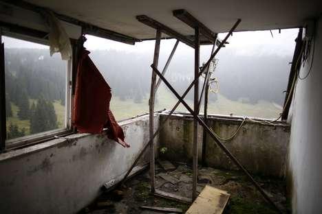 Abandoned Olympic Venue Photos - The 1984 Sarajevo Olympic Venue Photos are Hauntingly Beautiful