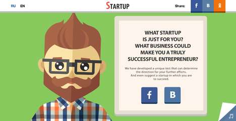 Hipster Entrepreneurial Tests - Your Future Startup Answers
