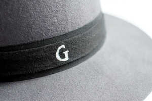 Add a Personal Touch to Your Wardrobe by Making a Monogram Fedora