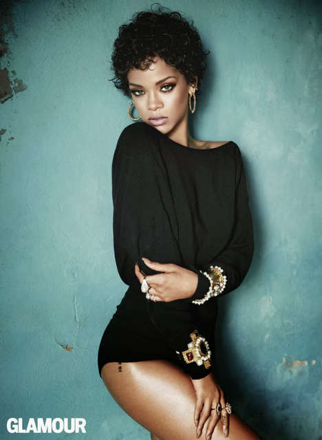 14 Ravishing Rihanna Editorials - The 2014 Rihanna Vogue Cover is Definitely Her Very Best One Yet