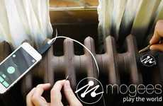 The Mogees App Can Turn Anything Into Music