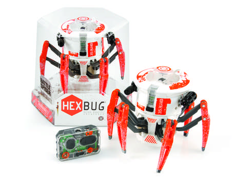 Combative Tarantula Toys - HEXBUG's Robotic Spider Toys Are Made for Battle