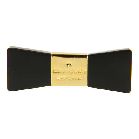 Fashionable Flash Drives - The Kate Spade Bow USB is Made for Geek Chic Girls