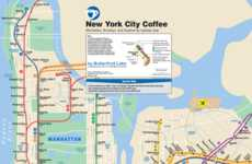 Caffeinated City Maps (UPDATED)