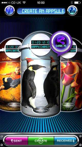 Digital Time Capsule Apps - The TimeAppsule App Stores and Sends Virtual Time Capsule Messages