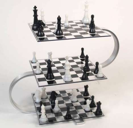 Multi-Level Chess Games - This 3D Chess Set Takes the Game to a Whole Other Level