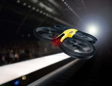 Aerial Photography Fashion Drones - Fendi is Giving Fashionistas a New Way to Watch Shows