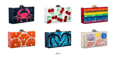Surfer Chic Summer Clutches - The Spring/Summer 2014 Edie Parker Collection is Sunny and Playful