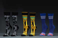 Hip Hop-Inspired Socks