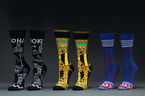 Hip Hop-Inspired Socks - Stance Collaborated with Santigold to Create a Collection of Vibrant Socks