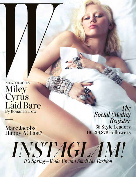 10 Magnificent Miley Cyrus Covers - These Miley Cyrus Magazine Covers Show Miley Just Being Miley