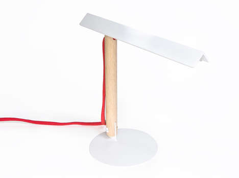 Little Pitched Illuminators - The 001 Task Lamp Embodies Formal Simplicity and Cost-Effectiveness