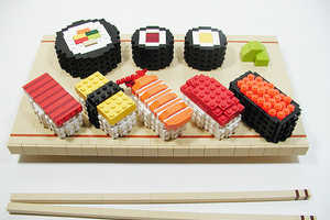 This Block Sushi Looks Strangely Good, for LEGO