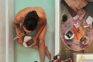 Artist Lee Price's Sweet Oil Paintings are Tastefully Gratifying