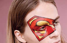 The Super Heroes Editorial for Mixte Magazine Features Face Paint