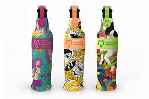 MIU Fruit Wine Packaging is Dressed Up for the Young Female Drinker