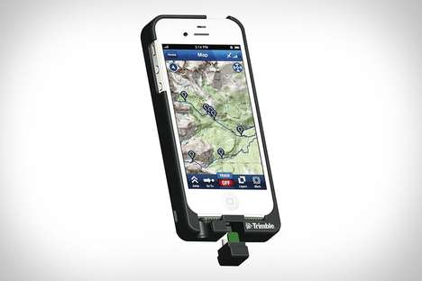 Map-Enhanced Smartphone Cases - Use the TopoCharger Case When Hiking to Keep You on Track