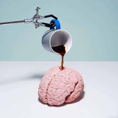 Work Ethic-Inspired Still Life - Productivity by Kyle Bean Explores Surreal Methods of Multitasking