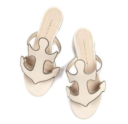 Beachy Anchor Sandals - These Charlotte Olympia Sandals are Perfect for Romantic Summer Walks