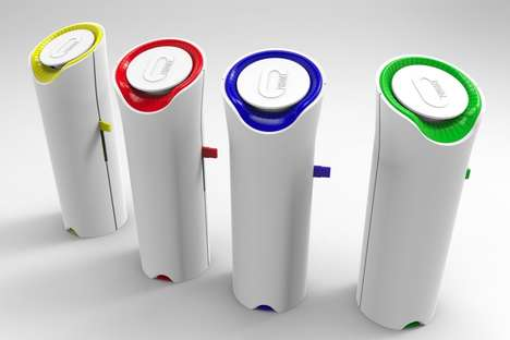 Scent-Emitting Message Devices - The OPhone is a Scent Messaging Device That Captures Every Smell