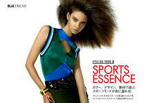 Fashion-Forecasting Editorials - Yusuke Miyazaki Captures Marina Nery for Elle Japan