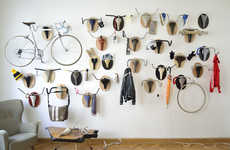 Retro Recycled Bicycle Art