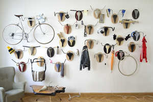 Andreas Scheiger Uses Old Findings to Create Bike Seat Art