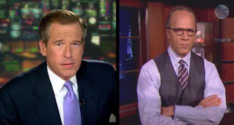 News Cast Rap Makeovers - The Brian Williams Rap Video Sets the NBC Anchor
